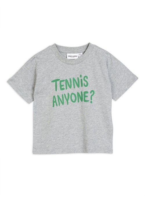 Mini Rodini Mini Rodini Tennis Anyone Tee Grey Melange