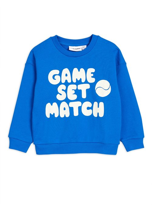 Mini Rodini Mini Rodini Game Sweatshirt Blue