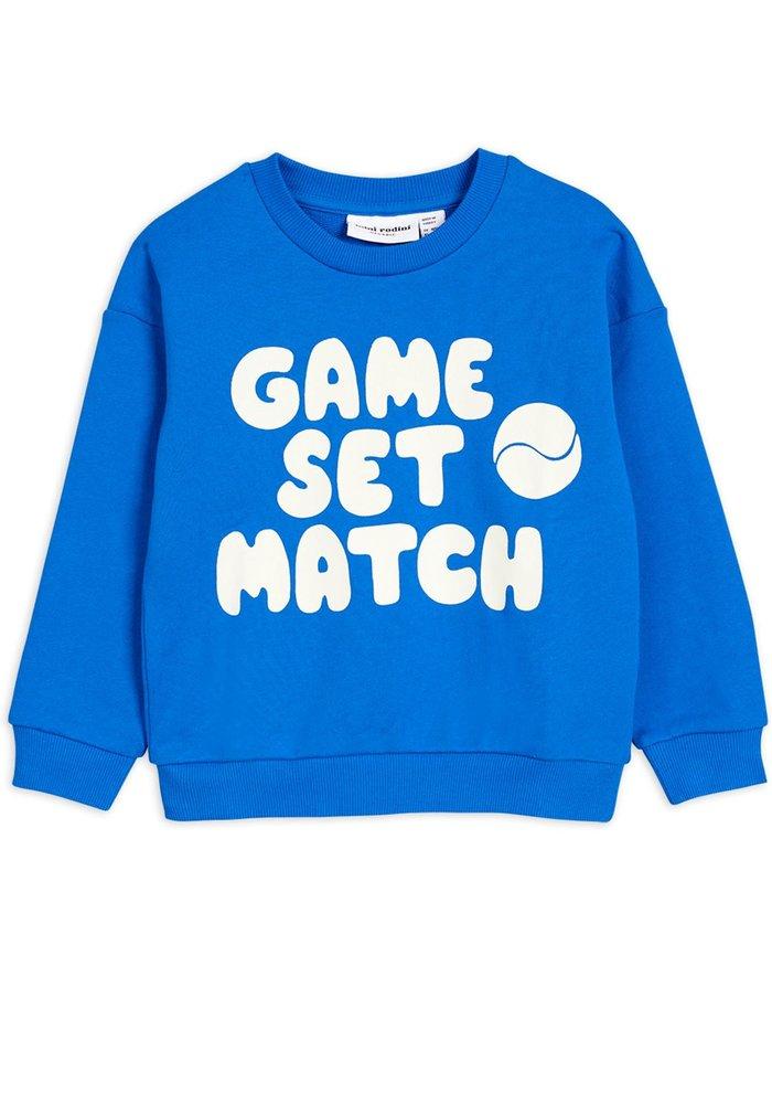Mini Rodini Game Sweatshirt Blue