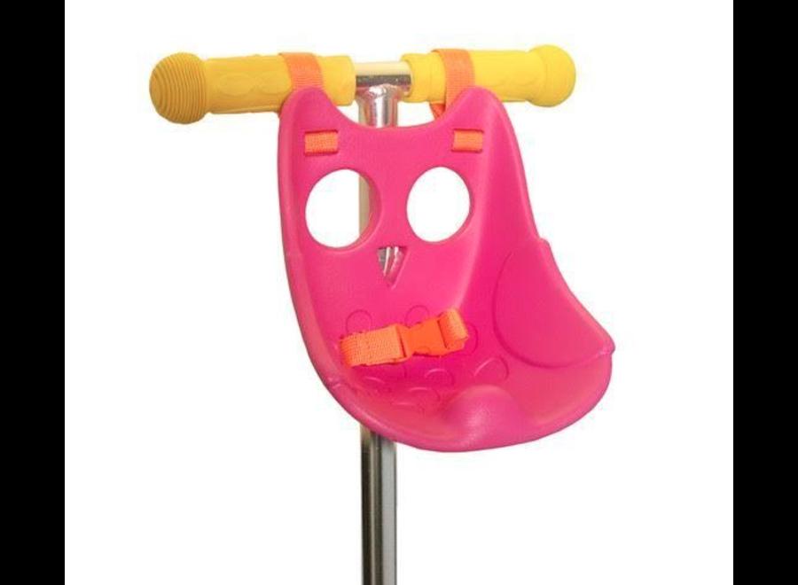 Micro Step Scootaseatz Kinderzitje voor Pop Roze