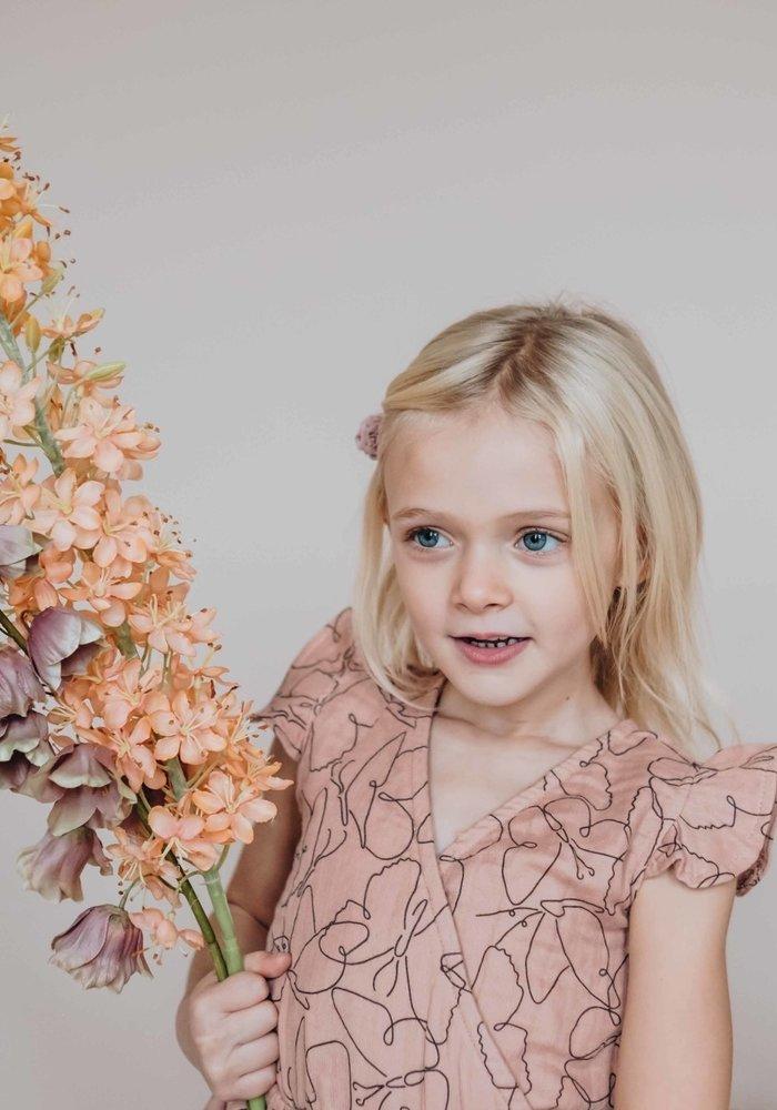 Blossom Kids Muslin Dress Muslin - Butterfly