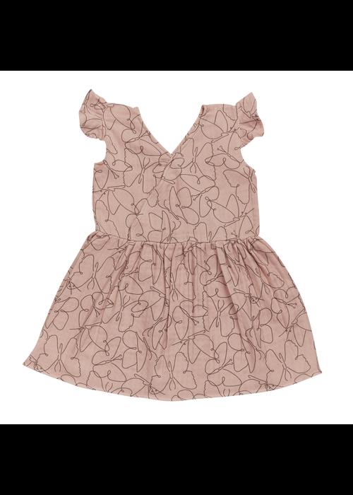 Blossom Kids Blossom Kids Muslin Dress Muslin - Butterfly