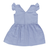 Blossom Kids Blossom Kids Muslin Dress Muslin - Lilac Blue