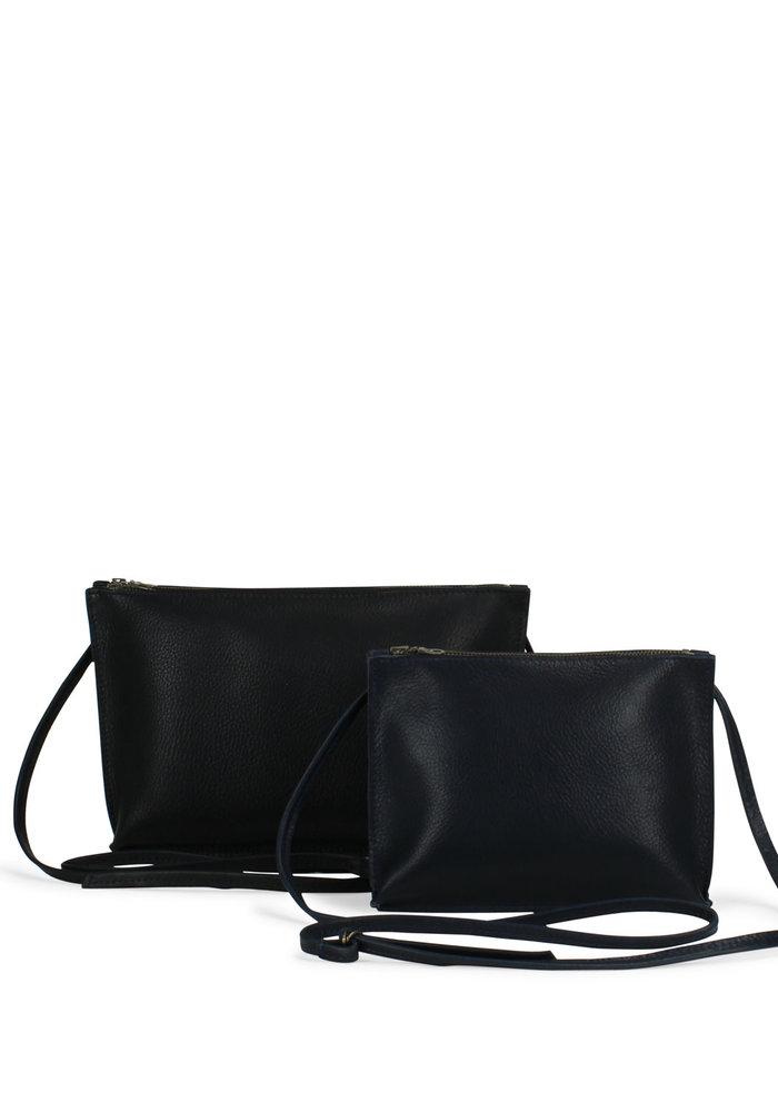 Philomijn Bags Twins Medium Robust Cow Black