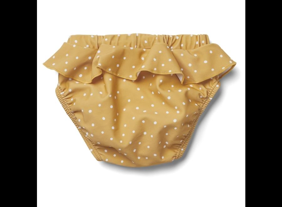 Liewood Elise Baby Girl Swim Pants Confetti Mellow Yellow
