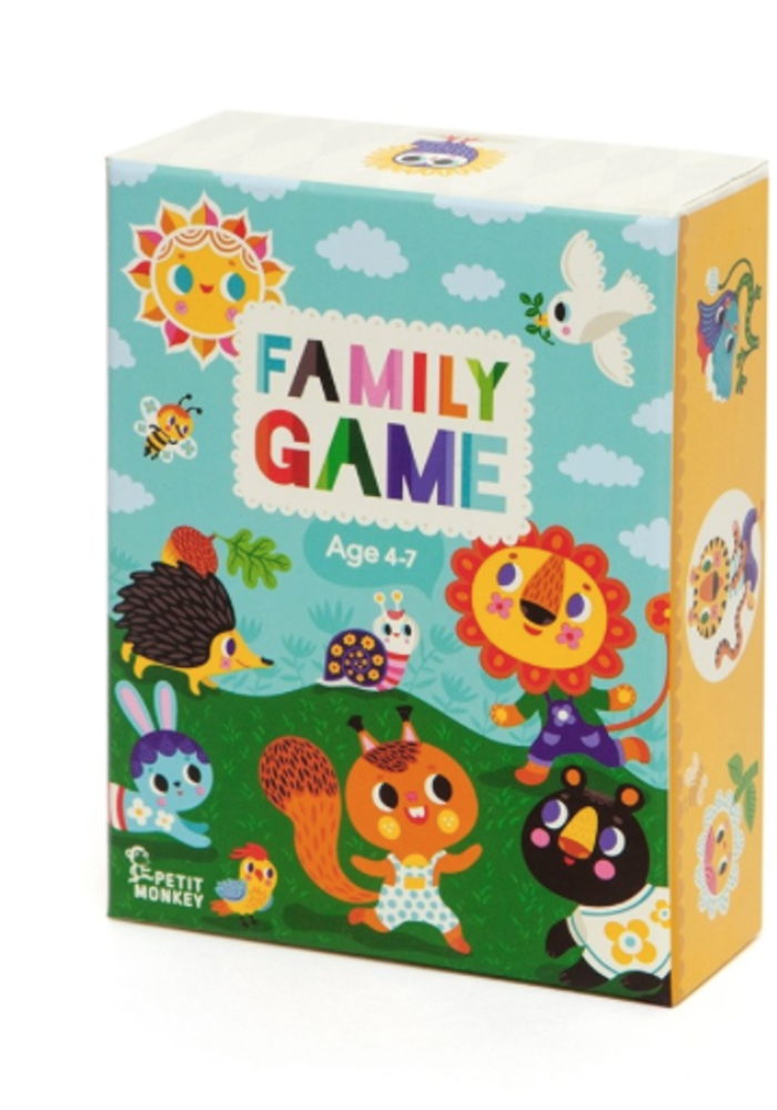 Petit Monkey Family Game
