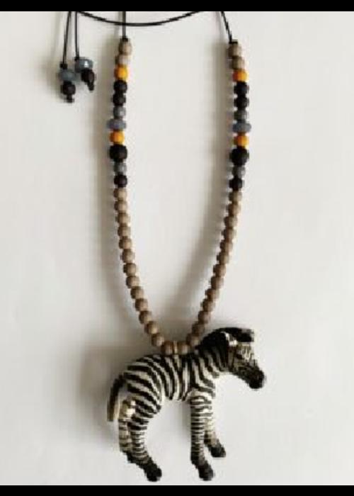 ByMelo ByMelo Zef de Zebra Ketting