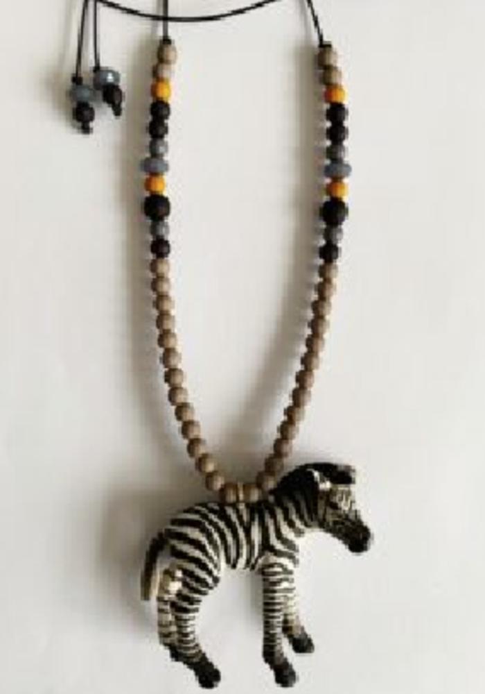 ByMelo Zef de Zebra Ketting