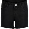 The New Agnes Denim Shorts Black