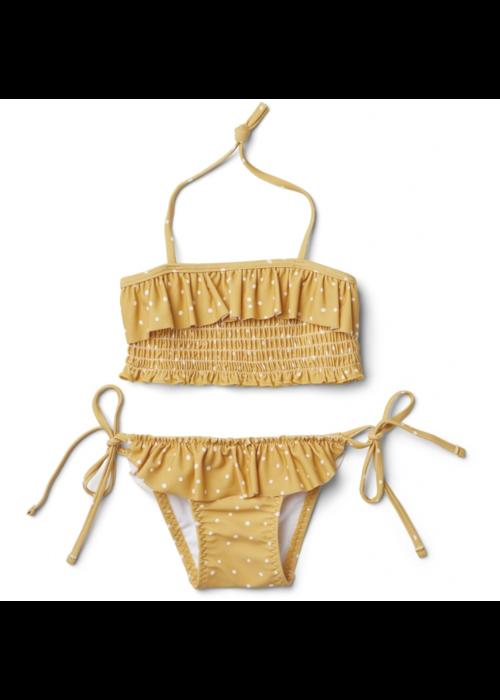 Liewood Liewood Riley Bikini Set Confetti Mellow Yellow