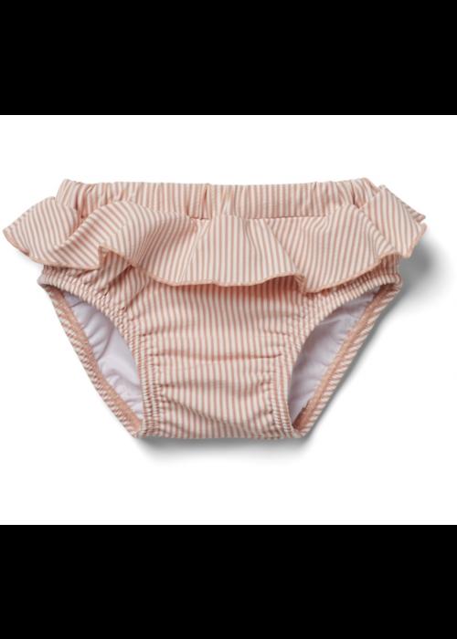 Liewood Liewood Elise Baby Girl Swim Pants Seersucker Coral Blush/Creme de la Creme