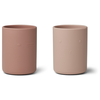 Liewood Liewood Ethan Cup 2-pack Rose Mix
