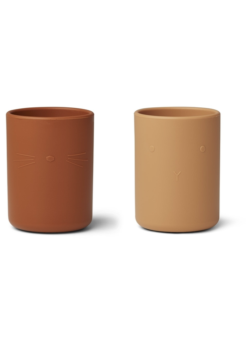 Liewood Liewood Ethan Cup 2-pack Yellow Mix