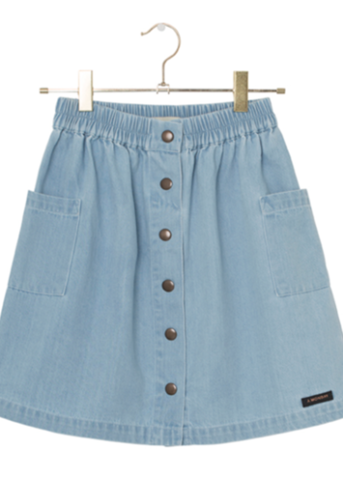 A Monday in Copenhagen Sara Skirt Light Blue