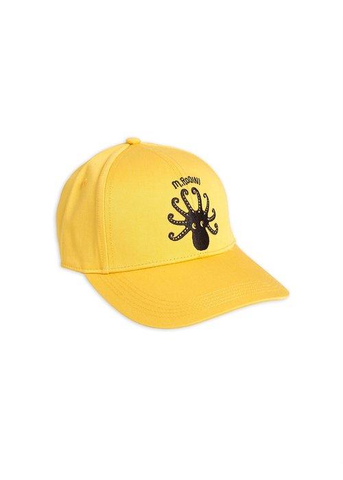 Mini Rodini Mini Rodini Octopus Cap Yellow