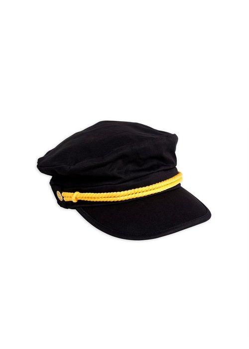 Mini Rodini Mini Rodini Skipper Hat Black