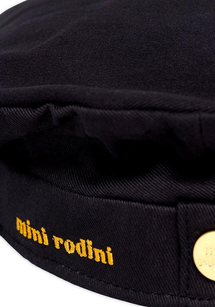 Mini Rodini Skipper Hat Black
