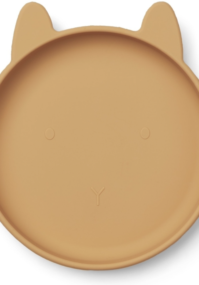 Liewood Olivia Silicone Plate 2-pack Mustard Mix