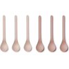 Liewood Liewood Etsu Bamboo Spoon 6-pack Blush Mix