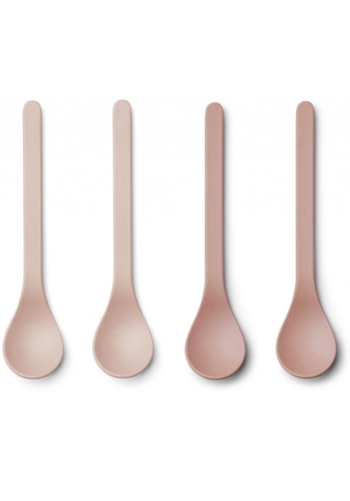 Liewood Etsu Bamboo Spoon 6-pack Blush Mix