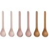 Liewood Liewood Etsu Bamboo Spoon 6-pack Rose Multi Mix