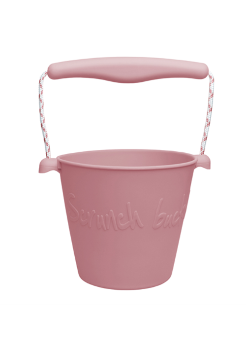 Scrunch Scrunch Bucket Dusty Rose