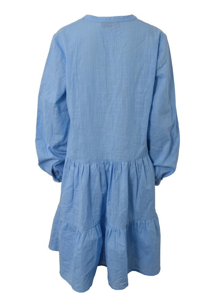 HOUND Ruffle Dress Chambray