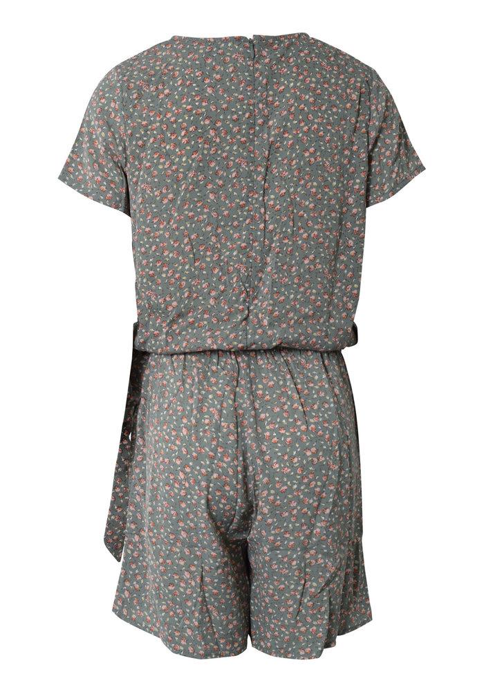 HOUND Smock Short Jumpsuit Flower Print