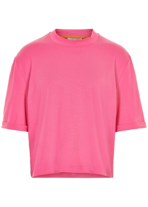 Cost Bart Cost Bart Ingrid Cropped Tee Hot Pink