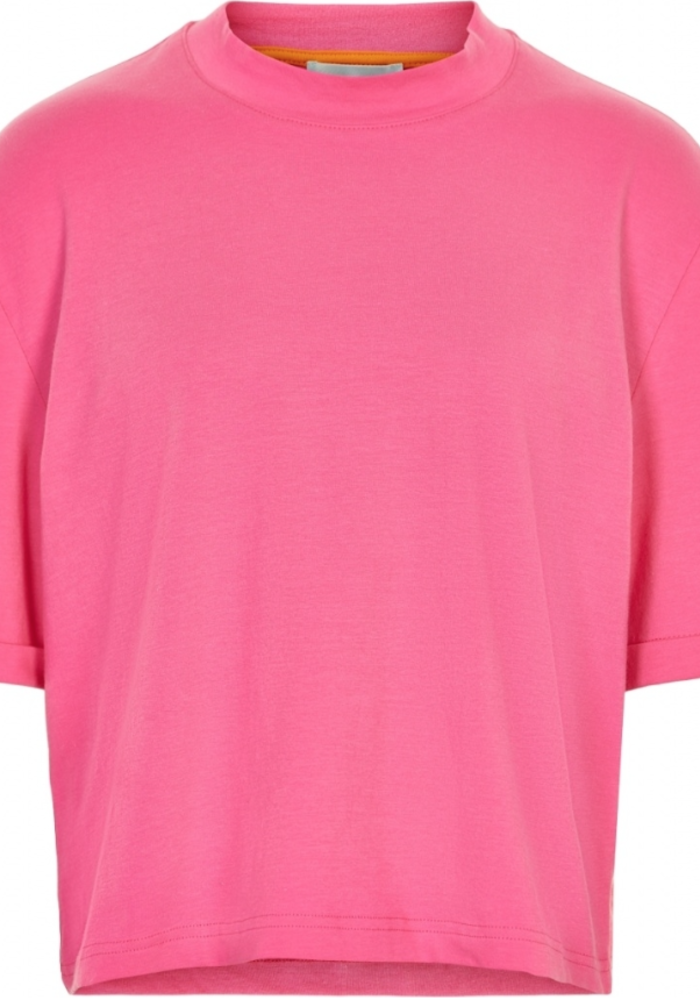 Cost Bart Ingrid Cropped Tee Hot Pink