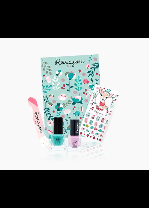 Rosajou Rosajou Pretty Nails Kit Lagon X Flamingo
