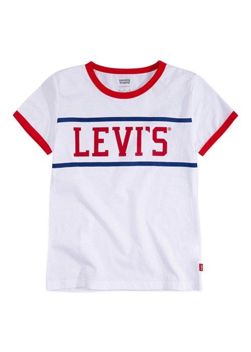 LEVI'S LEVI'S Logo Ringer Tee
