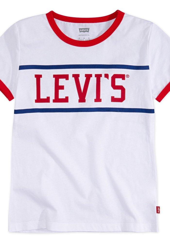 LEVI'S Logo Ringer Tee