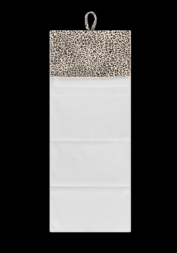 House of Jamie Travel Changing Mat Snow Leopard Velvet
