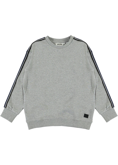 Molo Molo Mons Sweat Shirt Grey Melagne
