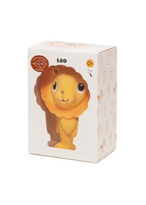 Petit Monkey Petit Monkey 100% natural rubber toy Leo the Lion