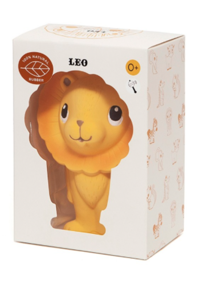 Petit Monkey 100% natural rubber toy Leo the Lion
