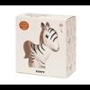 Petit Monkey Petit Monkey 100% natural rubber toy Zippy the Zebra