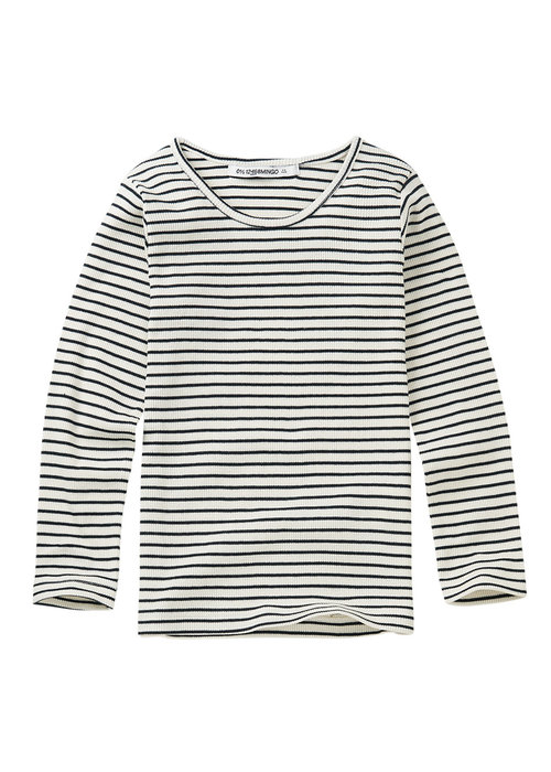 Mingo Mingo Rib Top Stripes Black/White