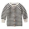 Mingo Mingo Baby Cardigan Stripes Black/White
