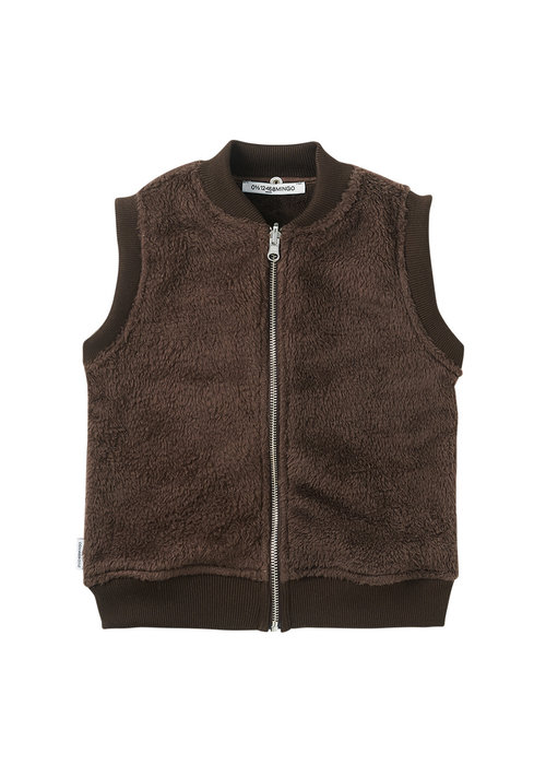 Mingo Mingo Fake Fur Bodywarmer Walnut