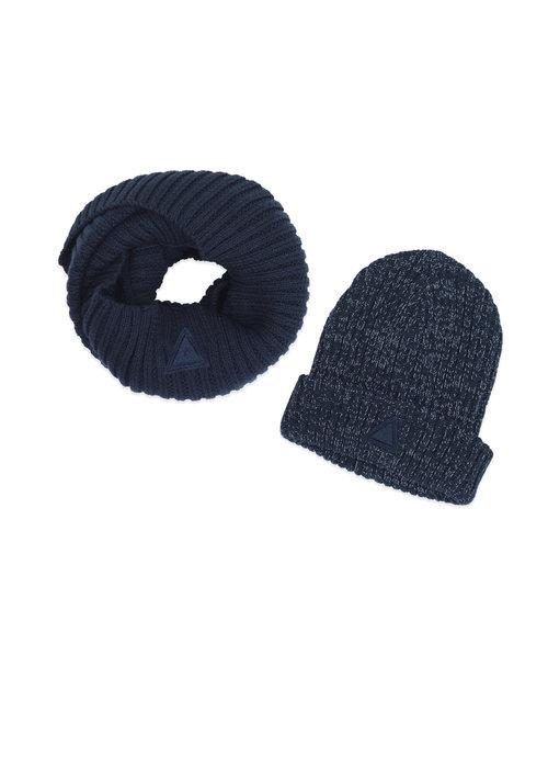 Ammehoela Ammehoela Bobbie Hat en Scarf Navy