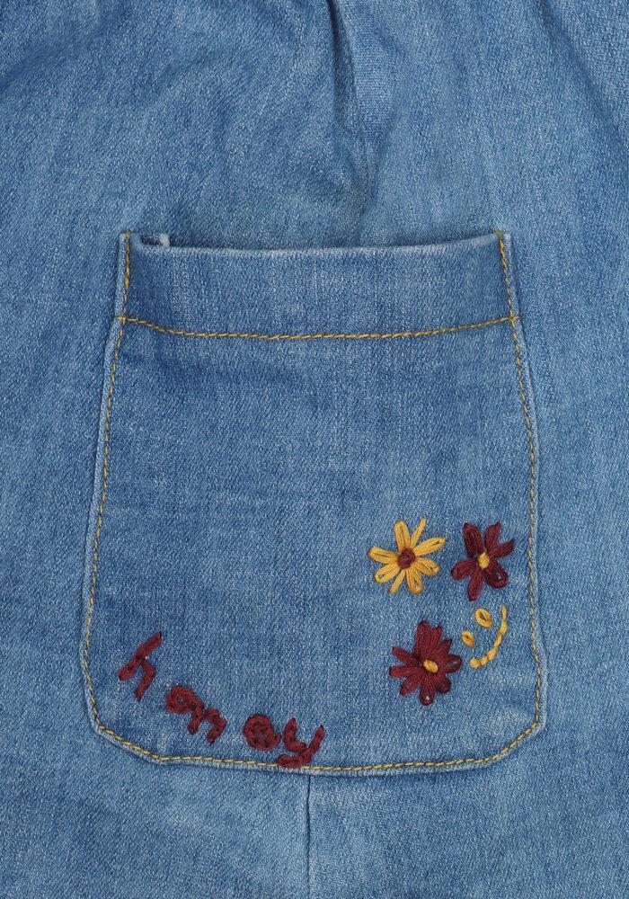 Ammehoela Flynn Skirt Denim-Blue