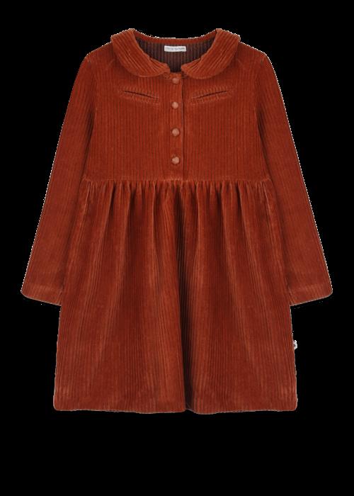 Ammehoela Ammehoela Liesje Dress Bombay-Brown