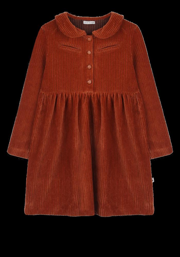 Ammehoela Liesje Dress Bombay-Brown