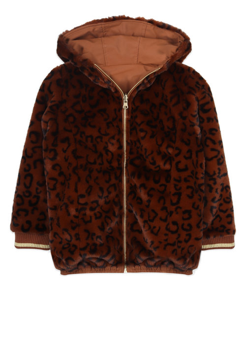 Ammehoela Ammehoela Lola Jacket Brown Leopard