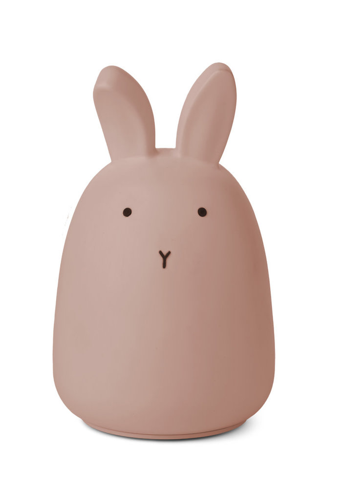 Liewood Winston Night Light Rabbit Dark Rose