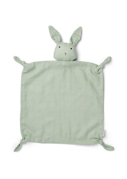 Liewood Liewood Agnete Cuddle Cloth Rabbit Dusty Mint
