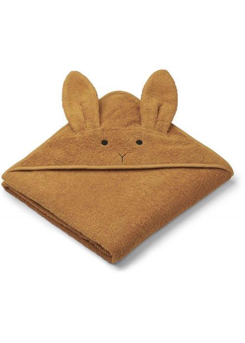 Liewood Liewood Augusta Hooded Towel Rabbit - Mustard