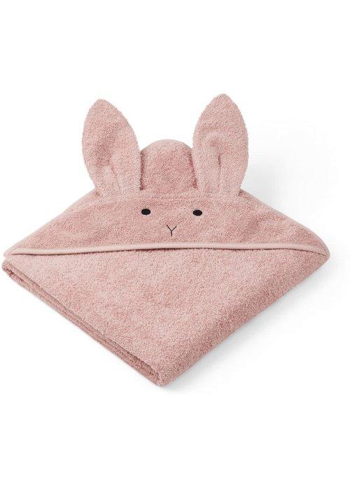 Liewood Liewood Augusta Hooded Towel Rabbit - dusty rose